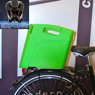 """Utili e pratici accessori per le biciclette urbane da """"Hebie"""""""