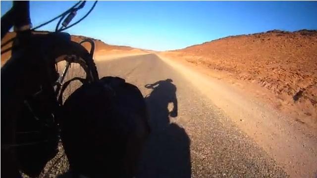 Cicloturismo in Marocco, Bas Steller