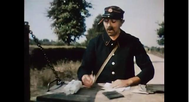 Jacques Tati, il postino volante in bicicletta..
