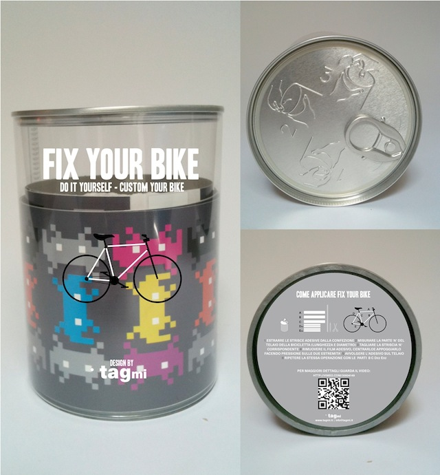 "Fuori Salone 2012, tagmi presenta "" Fix Your Bike"""