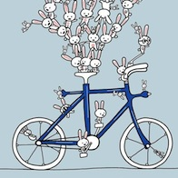 Bunnies-on-bicycle_Sebastian_Millon