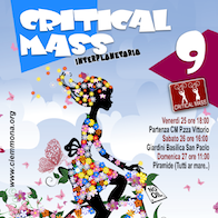 Critical Mass Interplanetaria, a Roma