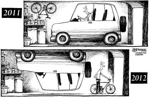 Le bici superano le vendite delle auto in Italia!
