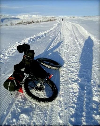 Alaska in bici. Inverno sulla Denali Hyghway