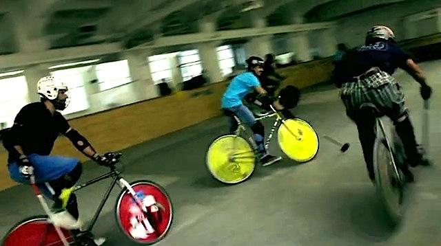 BFF Milano 2012. Bike Polo video