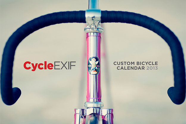 Cycle Exif, bicycle calendar 2013