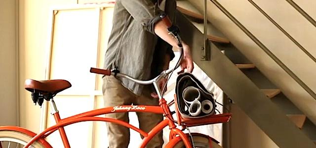 Bici cruiser – porteur, video promo