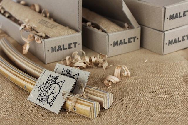 Handlebar packaging, by Malet