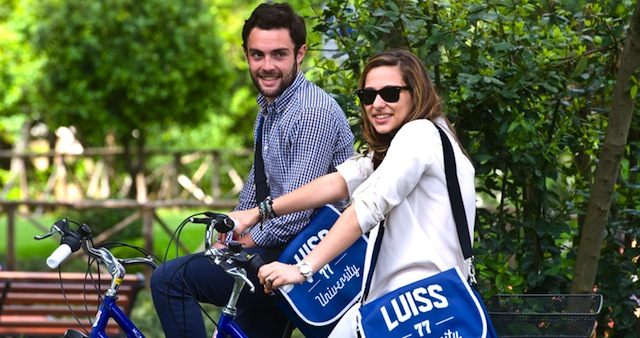 CicloLUISS, bike sharing all'universita' di Roma