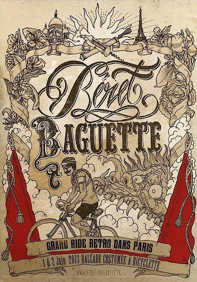 Beret Baguette 2013, Parigi