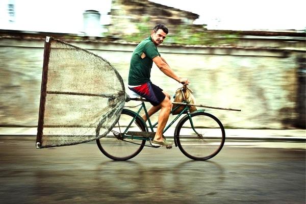 Carril Bici, Cuba. Scott Ramsay photography 2