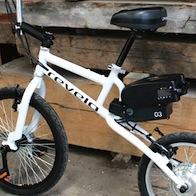 Revelo LIFEbike, originale bici elettrica compatta