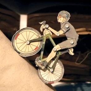 Paper Boy, video animazione