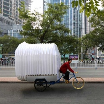 Tricycle House, dalla Cina