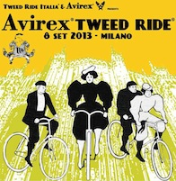 Avirex Tweed Ride 2013 a Milano