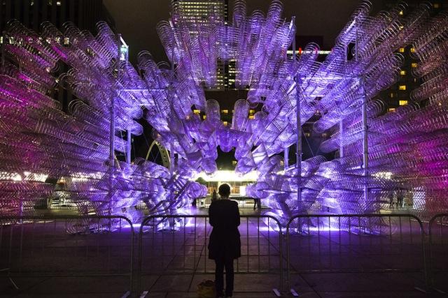 Ai Weiwei a Toronto. Installazione di 3144 biciclette!