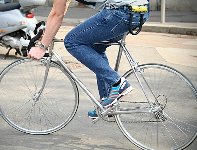 De Wallen, i jeans per l'urban biker