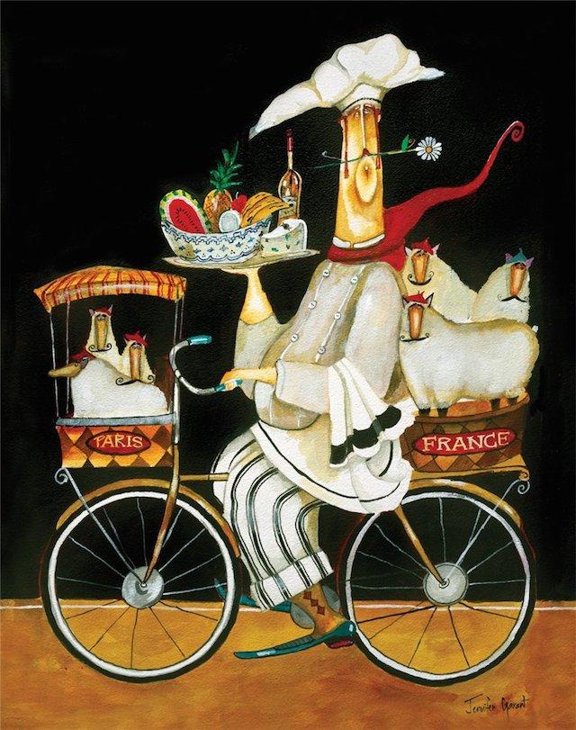 Chef In Bicicletta By Jennifer Garant Urbancycling It