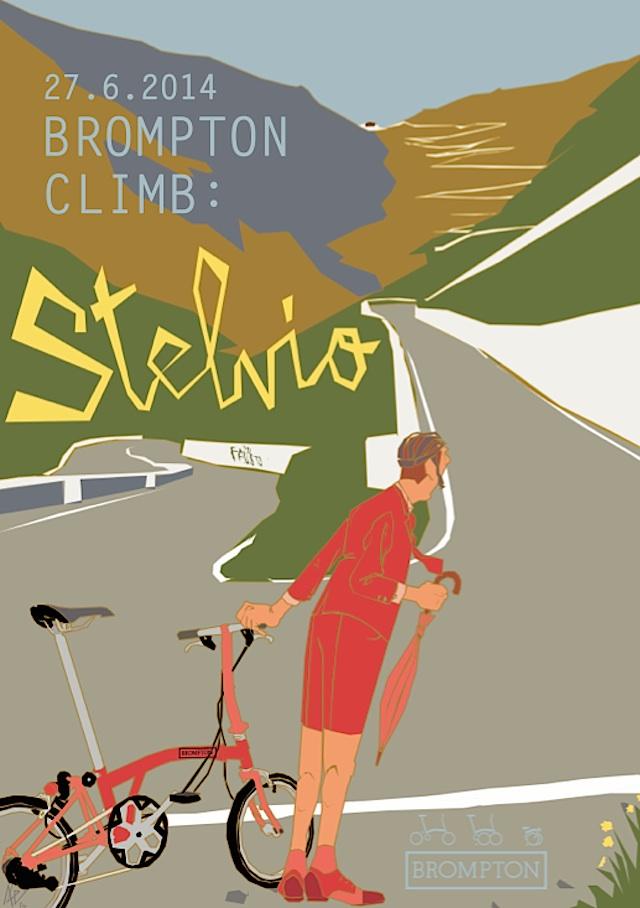 Brompton Climb: Stelvio