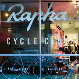 Cool Bike Shops. Rapha Cycle Club, London