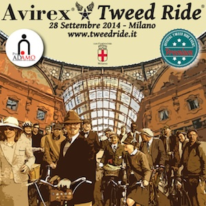 Avirex Tweed Ride, torna a Milano