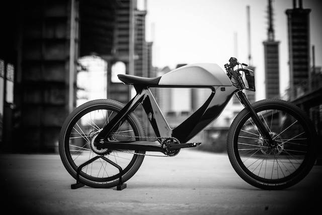 SPA Bicicletto. E-bike design