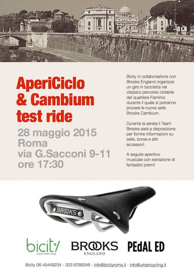 AperiCiclo & Cambium Test Ride a Roma