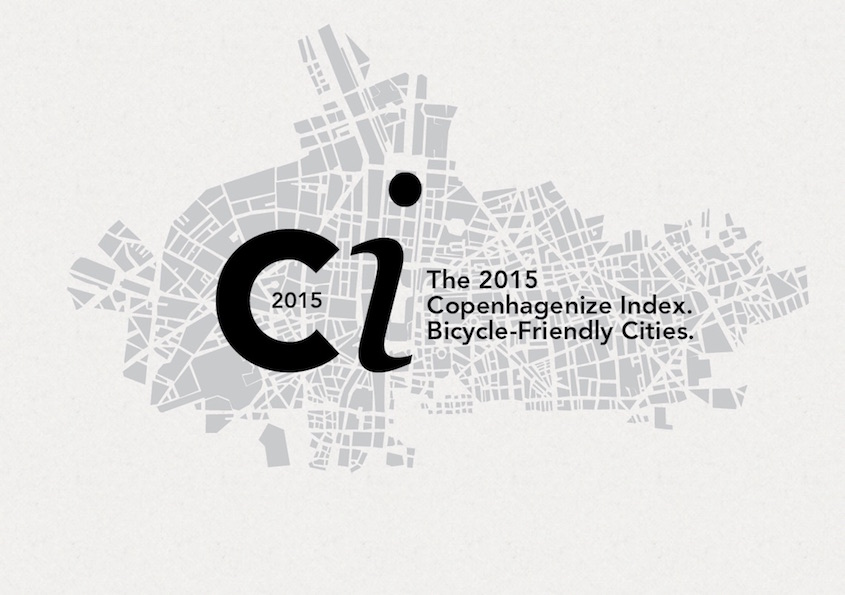 Copenhagenize Index 2015. Le città Bicycle-Friendly