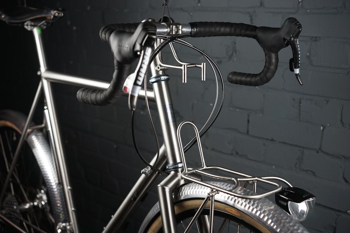 Wheeldan Randonneur. Handmade in titanio