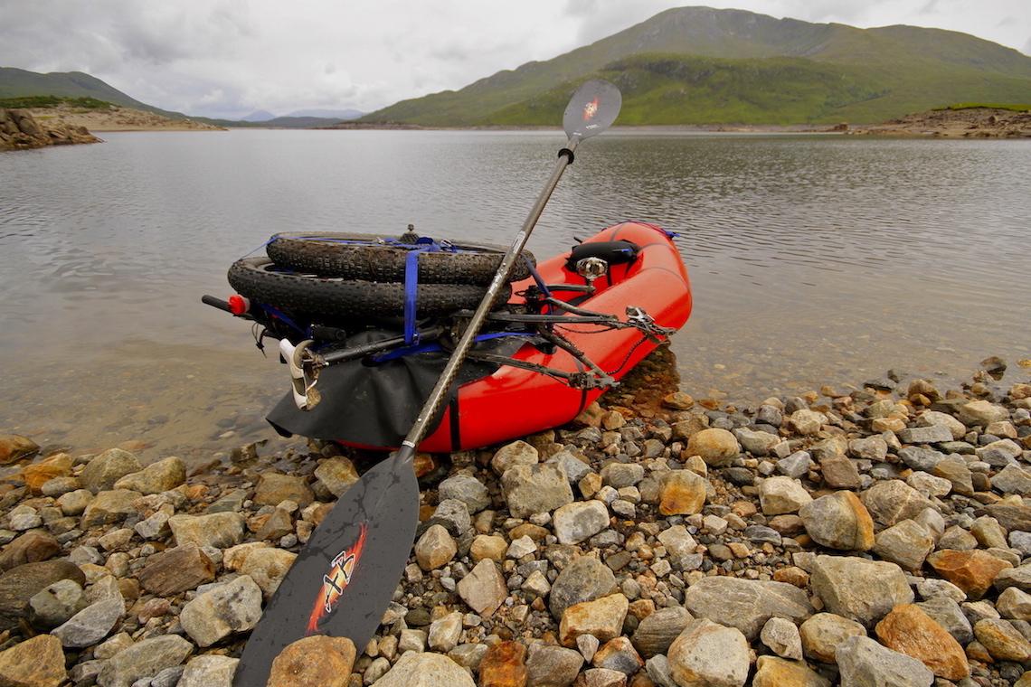 Bikerafting. In bici e canoa nella selvaggia Scozia