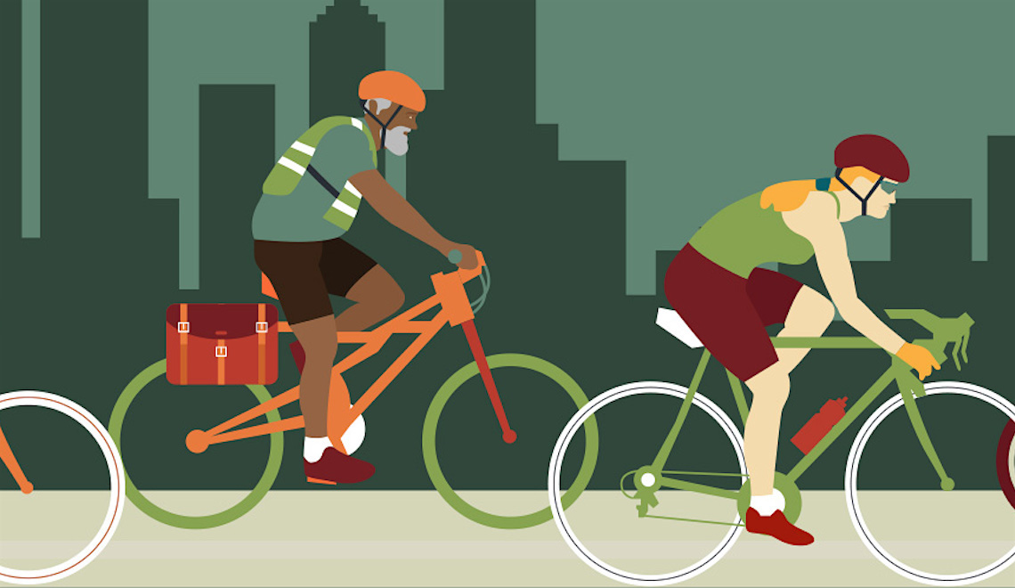 Put the Pedal to the Pavement. Infografica