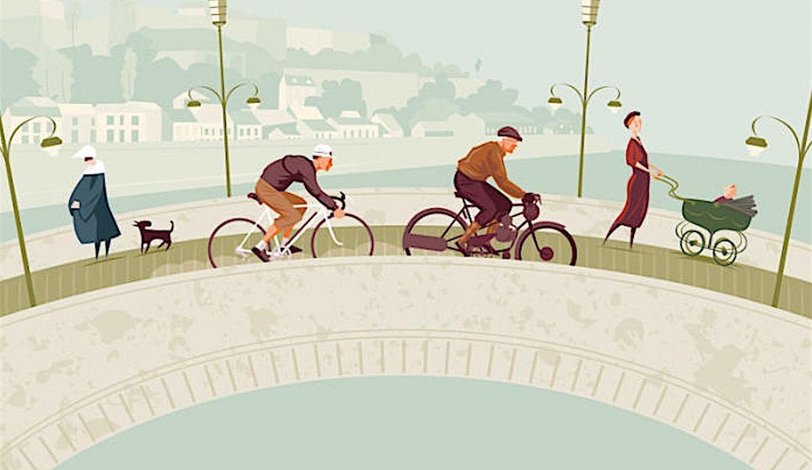 Simon Scarsbrook. Illustrazioni e ciclismo