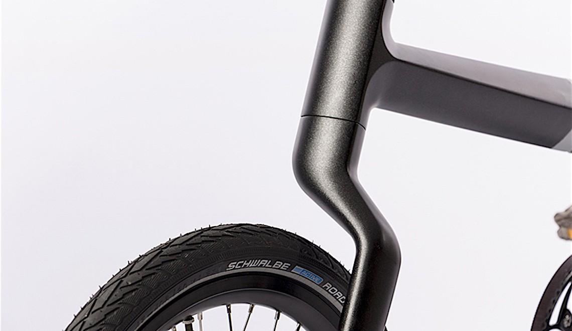 Frederic Boonen. Bicicletta pieghevole in carbonio