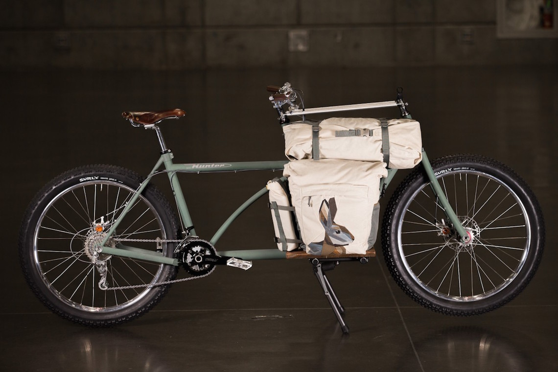Hunter Cycles Cargo Bike. NAHBS 2016