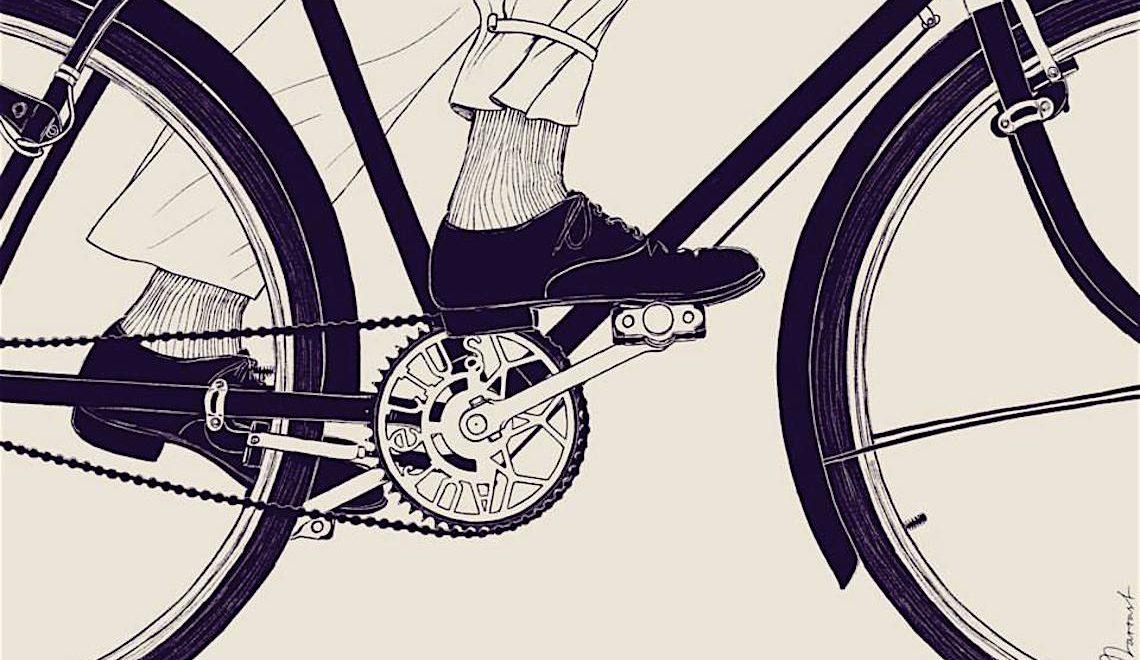 Il tema della bicicletta nell'arte di Anton Marrast
