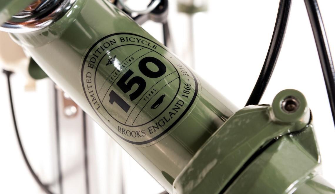 Brompton celebra i 150 anni della Brooks England