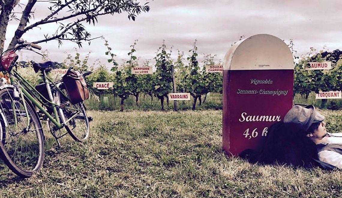 Anjou Vélo Vintage 2016. Ciclostorica a Saumur