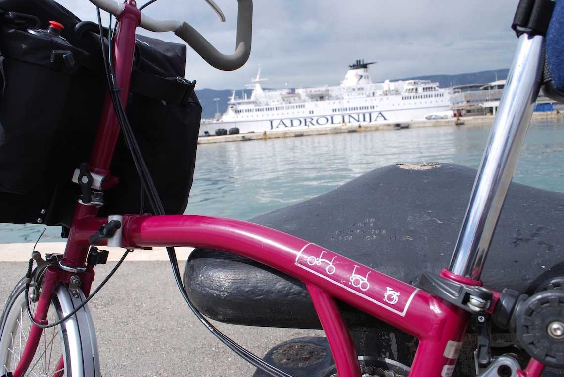 Bike&Boat Brompton. Croazia test tour