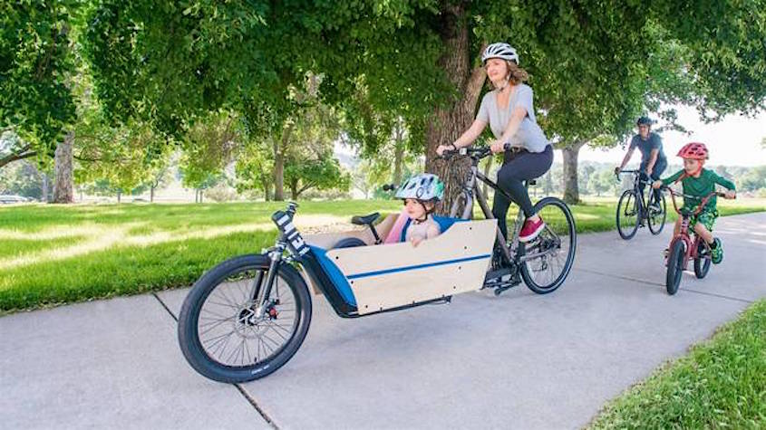 LIFT Cargo Bike urbancycling