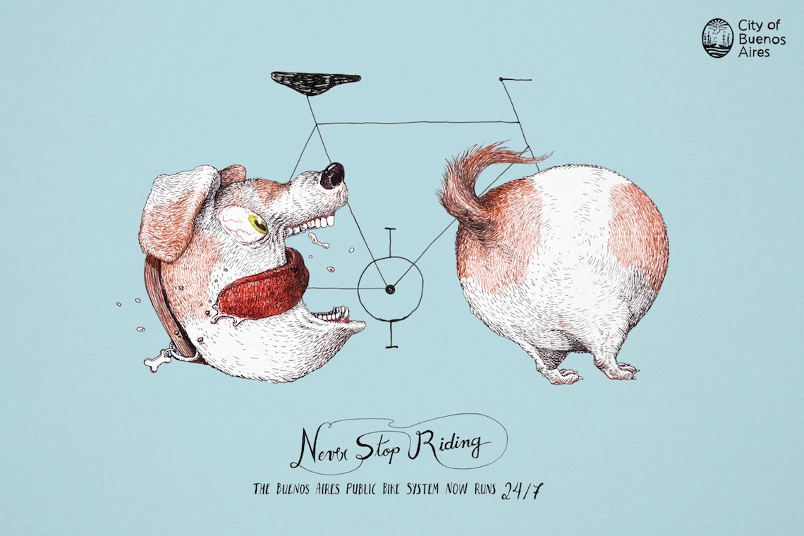 Never Stpo Riding_ City of Buenos Aires_urbancyclin