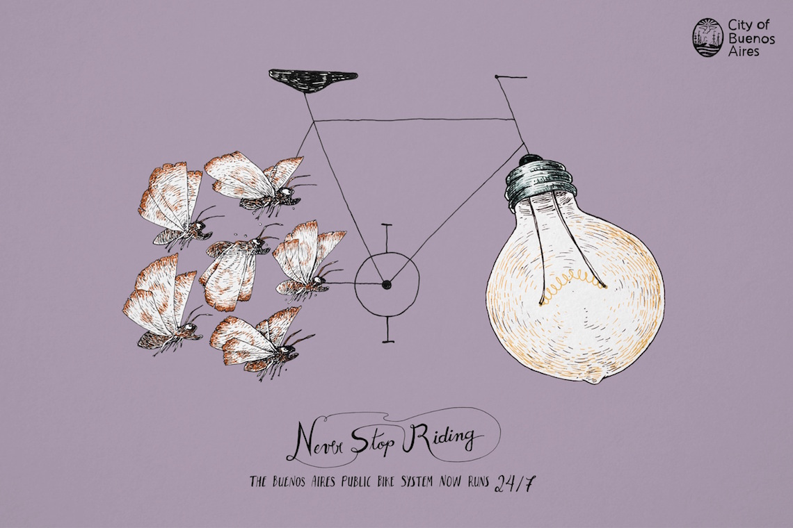 Never Stpo Riding_ City of Buenos Aires_urbancycling