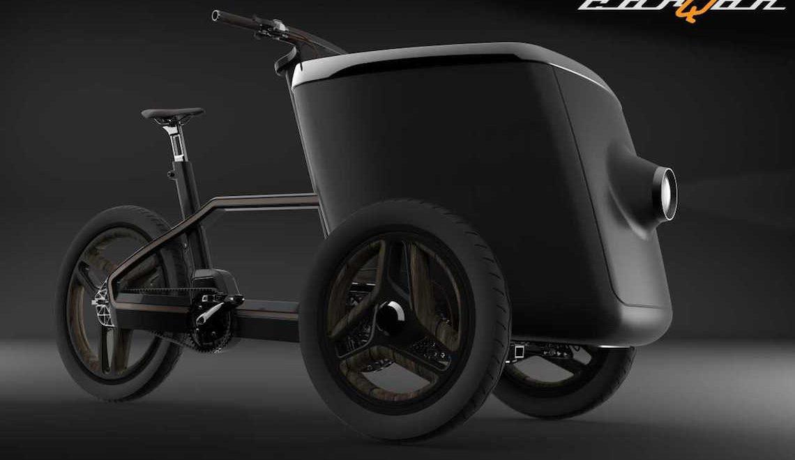 carQon. Arriva l'evoluzione della cargo e-bike