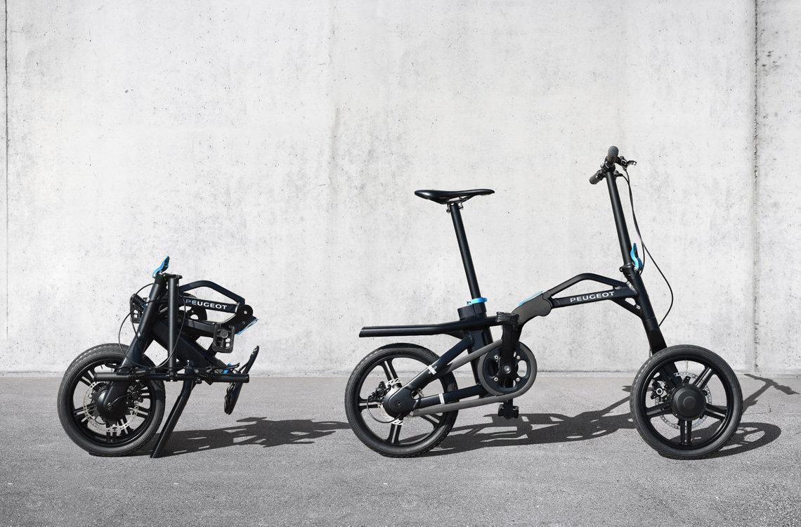 Peugeot eF01. La nuova bici pieghevole elettrica