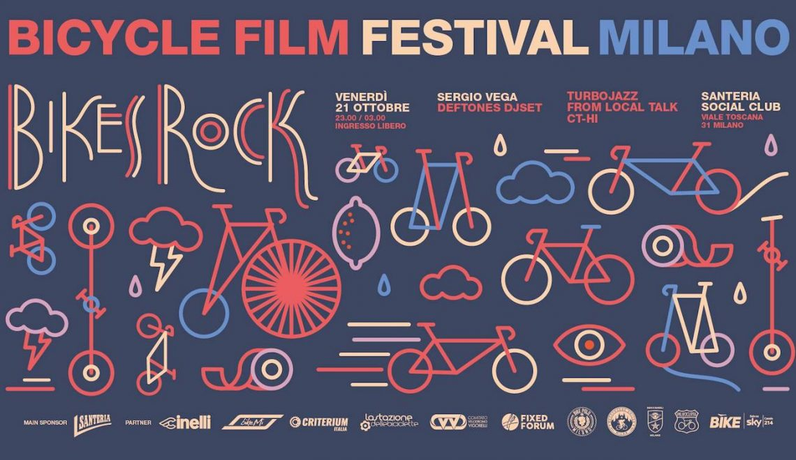 Bicycle Film Festival 2016. Milano 20-22 ottobre
