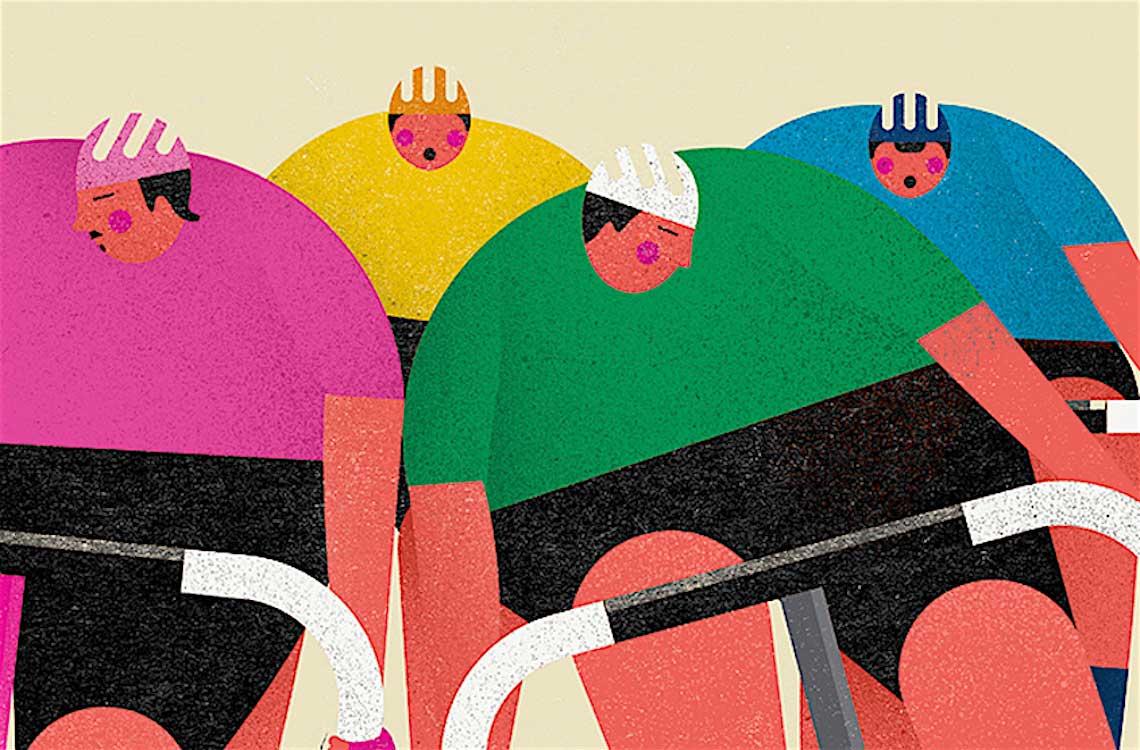 Niki Fisher. Arte e bicicletta dall'Australia