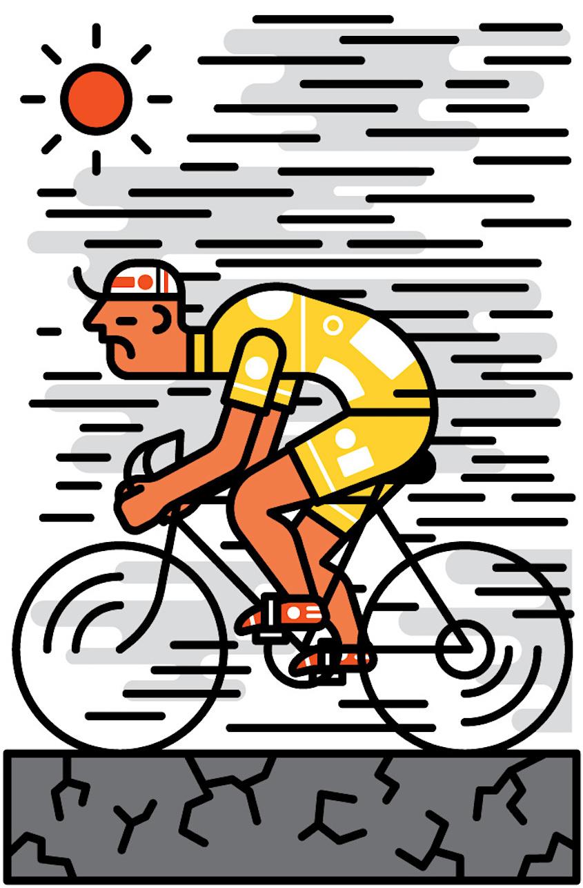 Sam Peet ilustrations_urbancycling_4