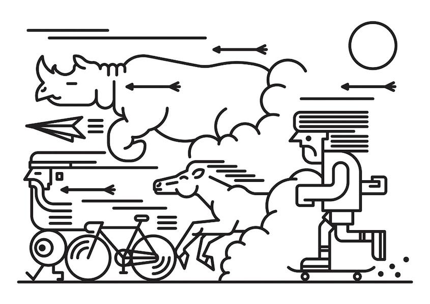 Sam Peet ilustrations_urbancycling_5