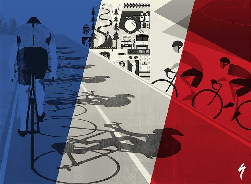 Eleanor Grosch illustrations_urbancycling_1