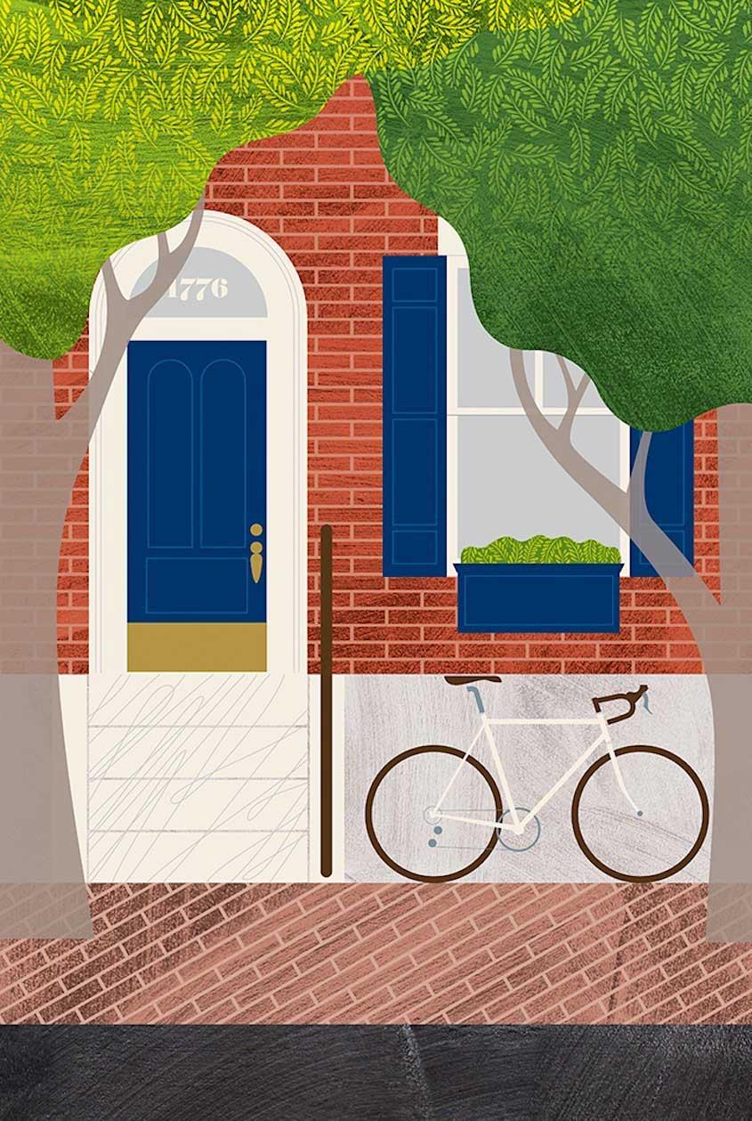Eleanor Grosch illustrations_urbancycling_3