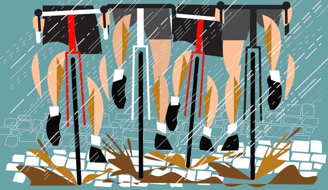 Illustrazioni e ciclismo nel mondo di Eleanor